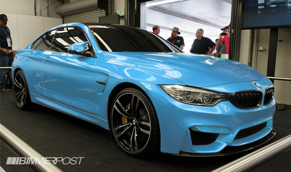 Preview Of Bmw M4 In Yas Marina Blue Rendering