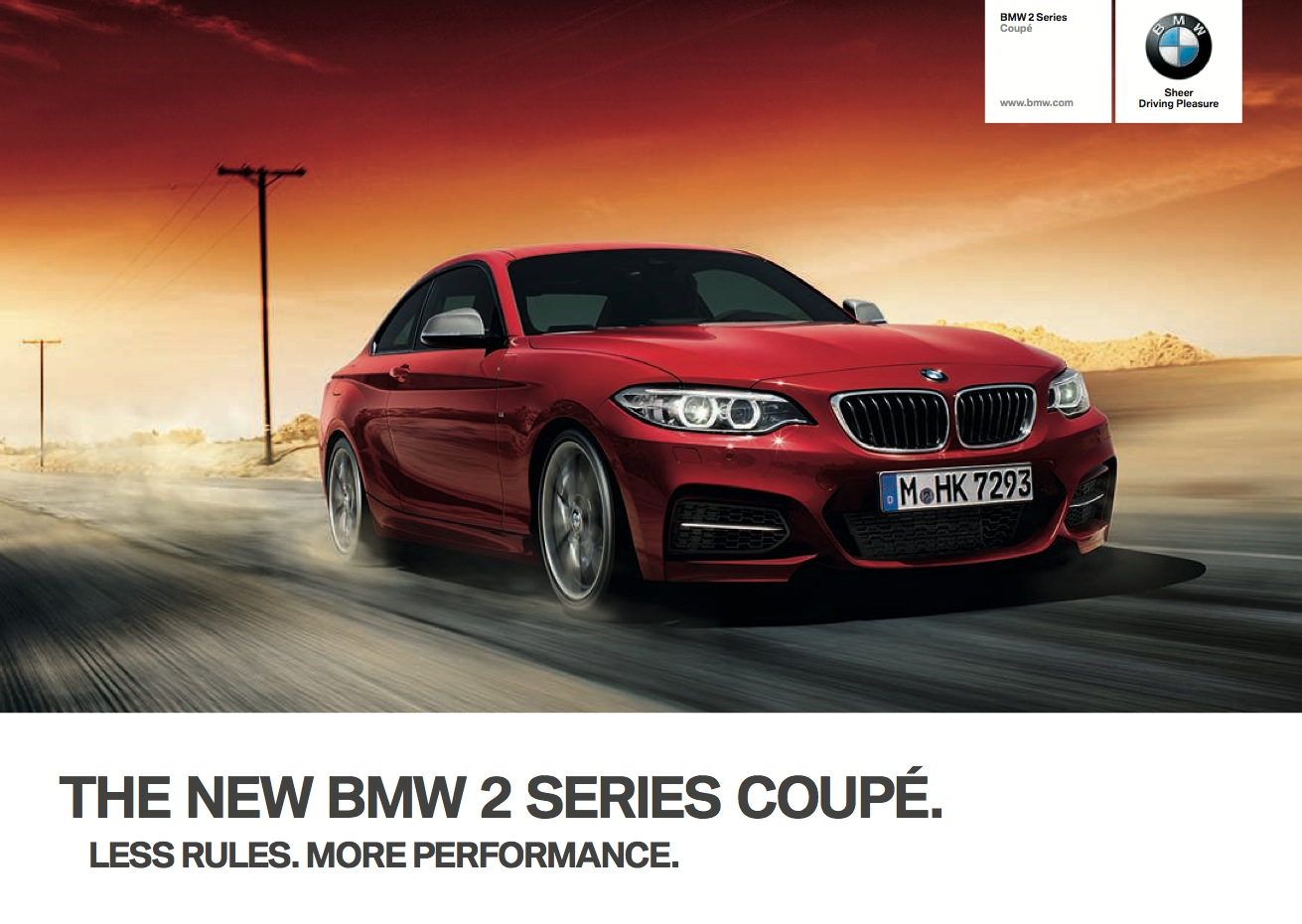 Bmw 2 Series Coupe Brochure