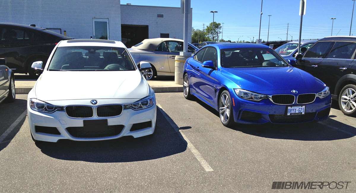 Bmw 4 Series Has Landed In Toronto First F32 Vs F30 M