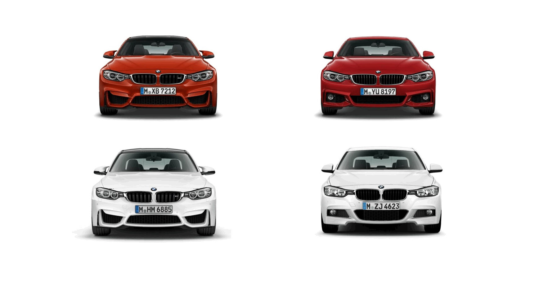 Animated Comparison Between M3 M4 And 3 4 Series M Sport