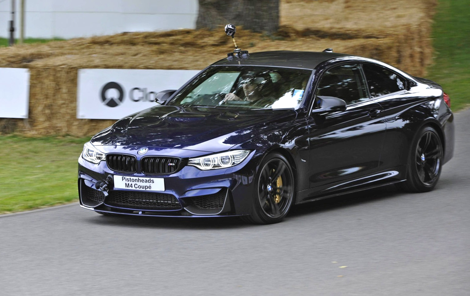 Bmw M4 Coupe In Tanzanite Blue Individual And M Performance Parts Hits Goodwood