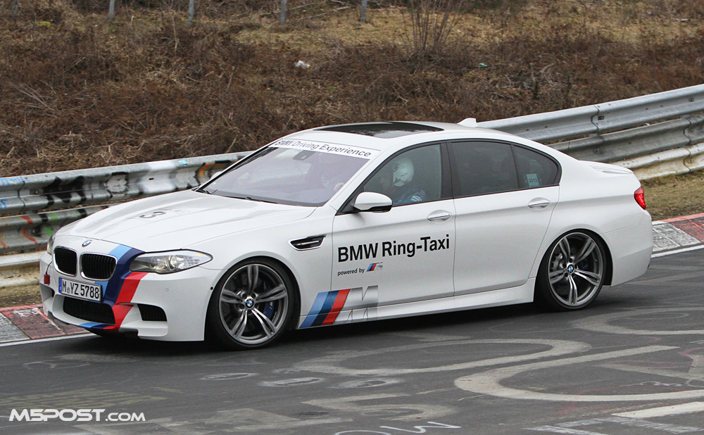 Video One Nurburgring Lap In The F10 M5 Ring Taxi