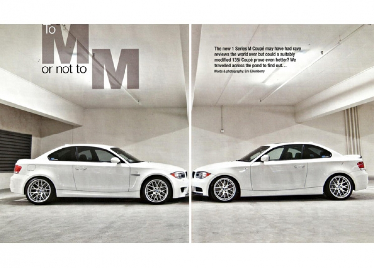 Bmw Car Magazine Article M Grudge Match 1m Vs Tuned