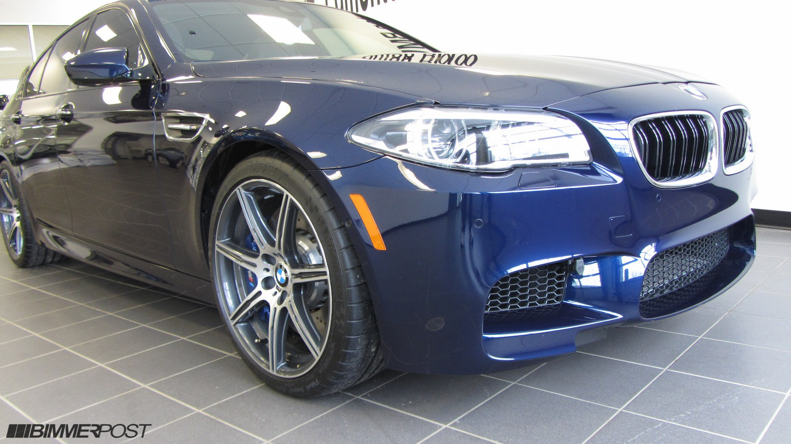 Bmw Individual Tanzanite Blue Amp Cohiba Brown F10 M5