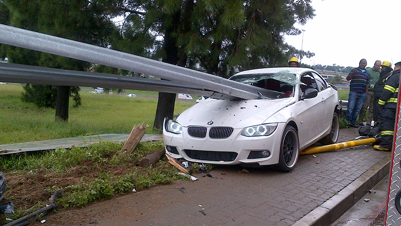 Impaled E93 Leaves Driver Without A Scratch Page 2