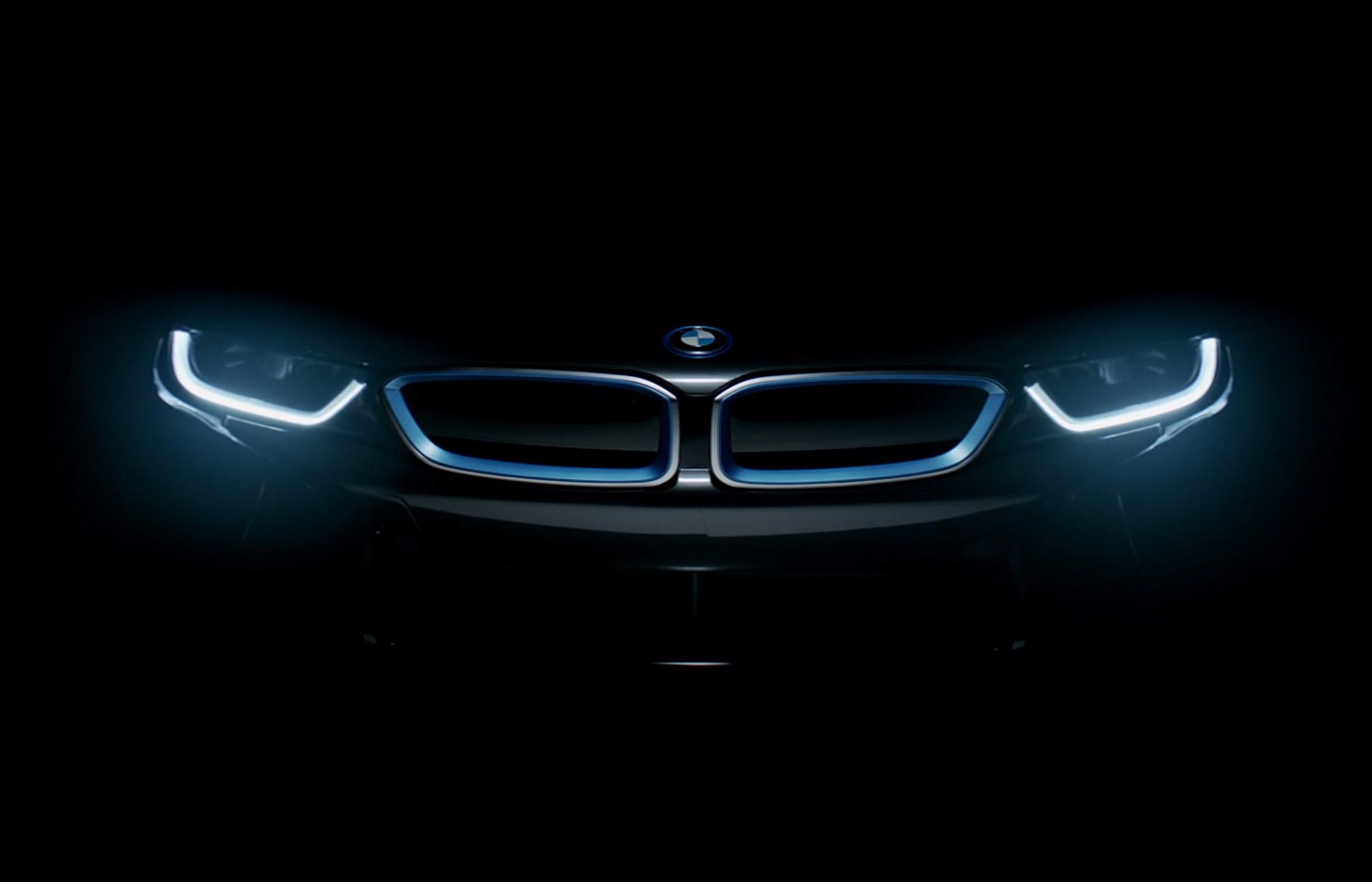 First Official Teaser Bmw I8