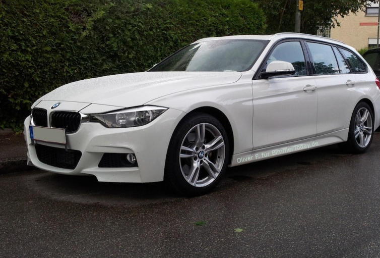 First 2013 Bmw 3 Series Touring M Sport F31 Fully Exposed