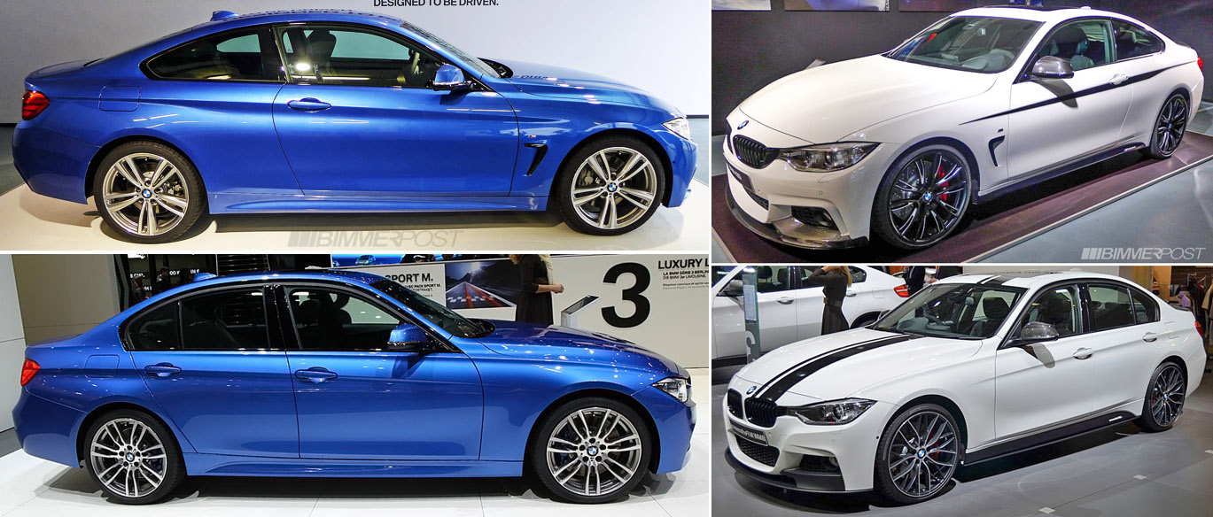 A Look At 4 Series Vs 3 Series M Sport And M Performance
