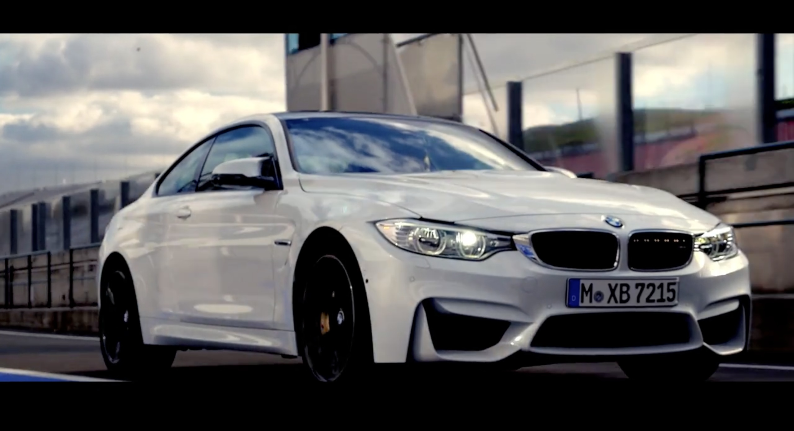 More Looks At White Bmw M4 Coupe In Behind The Shoot Video