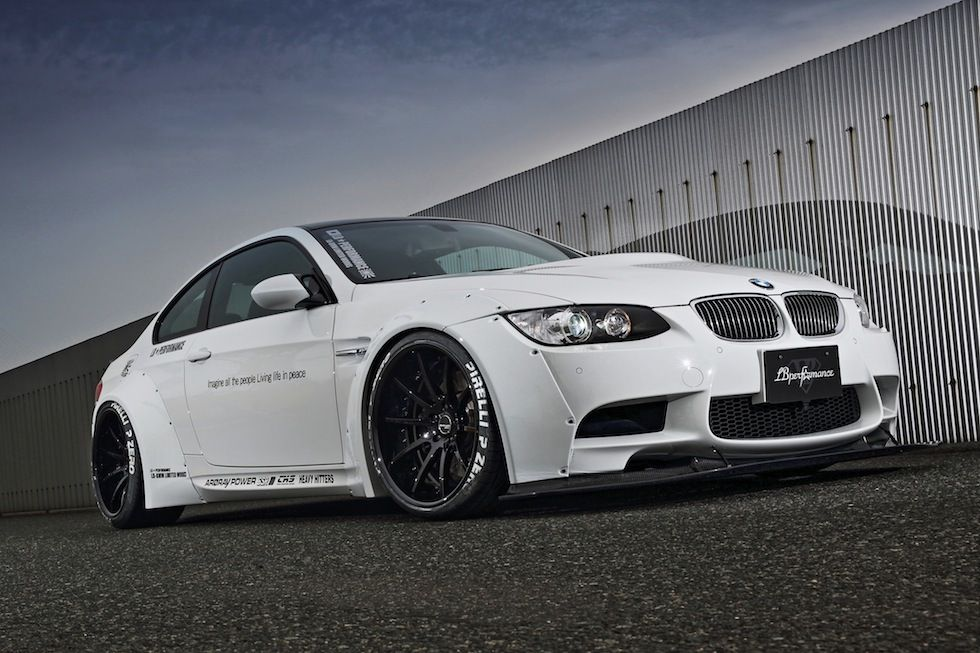 Bolt On Wide Body E92 M3 By Lb Performance