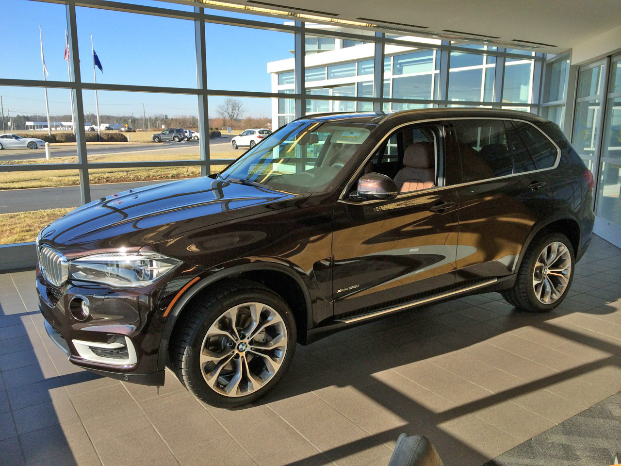 Performance Center Delivery Of Sparking Brown Terra XDrive35i