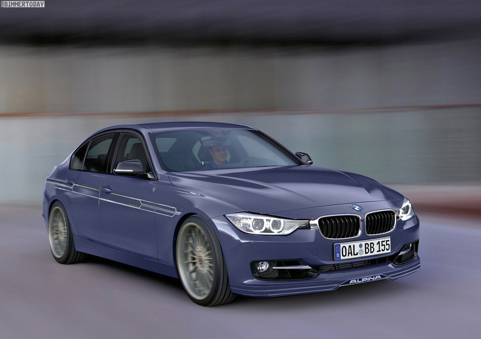 Bmw F30 Alpina B3 Preview