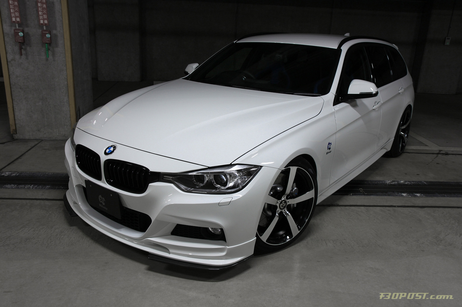 3D Design Presents the F31 M Sport 3 Series Touring