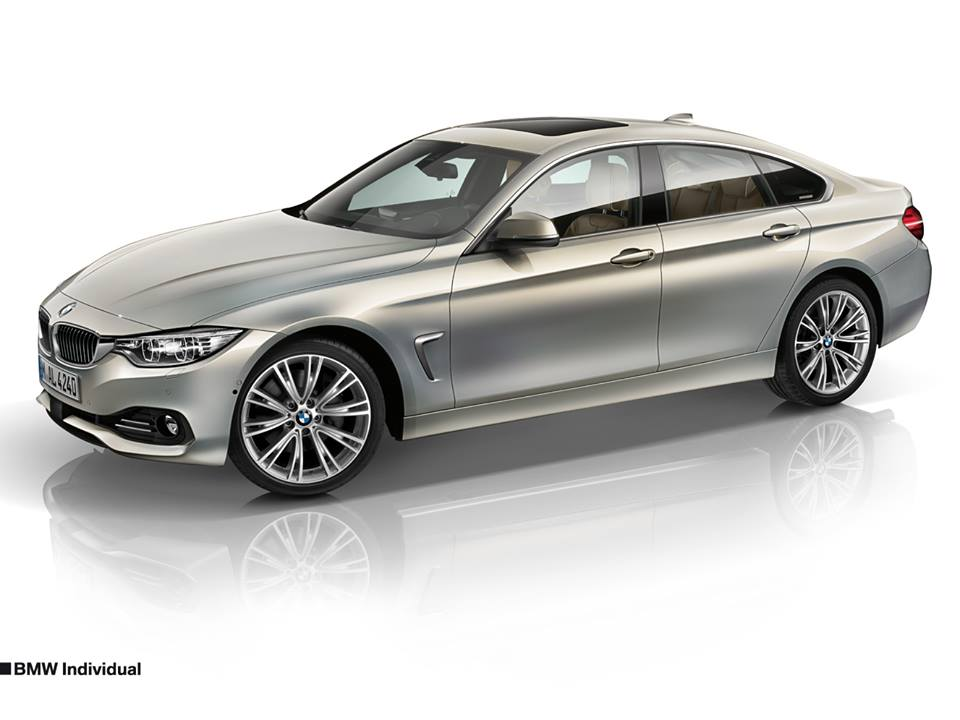 BMW Previews 4 Series Gran Coupe Individual Options