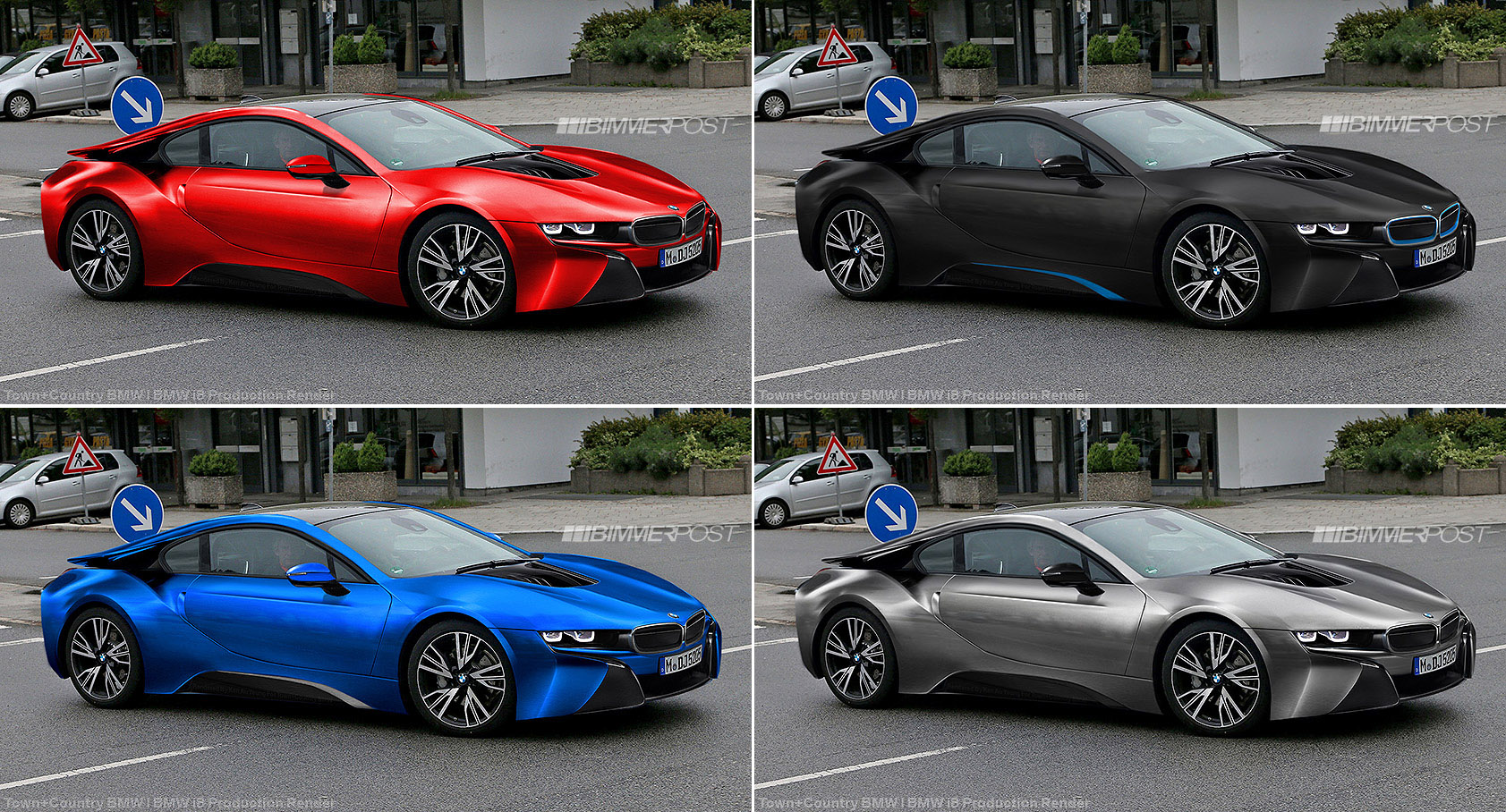 Bmw I8 Production Renders Based On Latest Spyshots