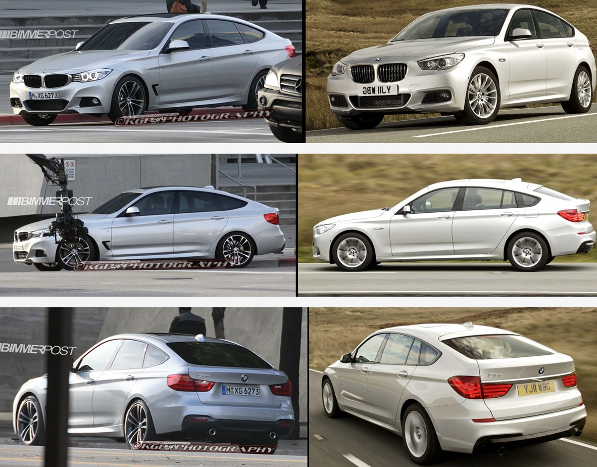 Visual Comparison Of Bmw 3 Series Gt Vs 5 Series Gt