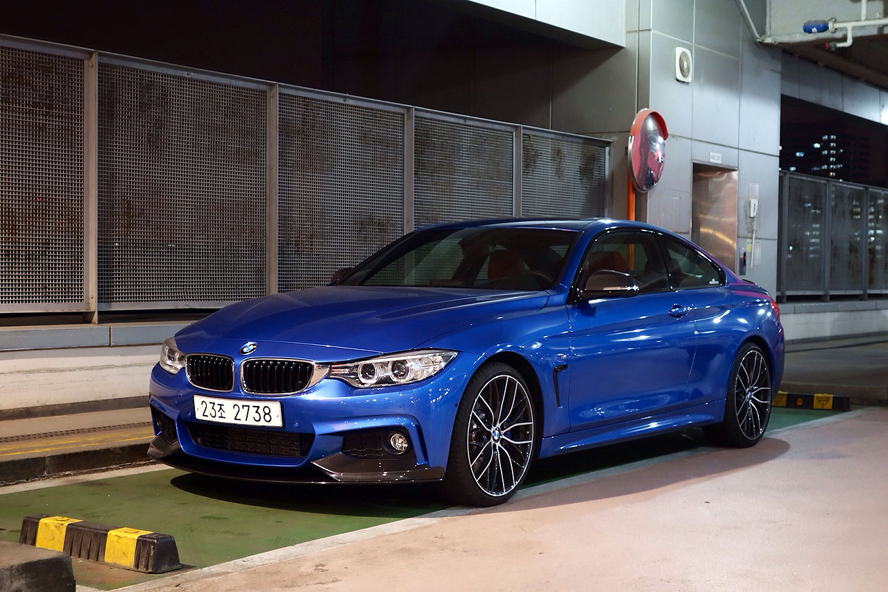 2014 428i M Performance In Estoril Blue