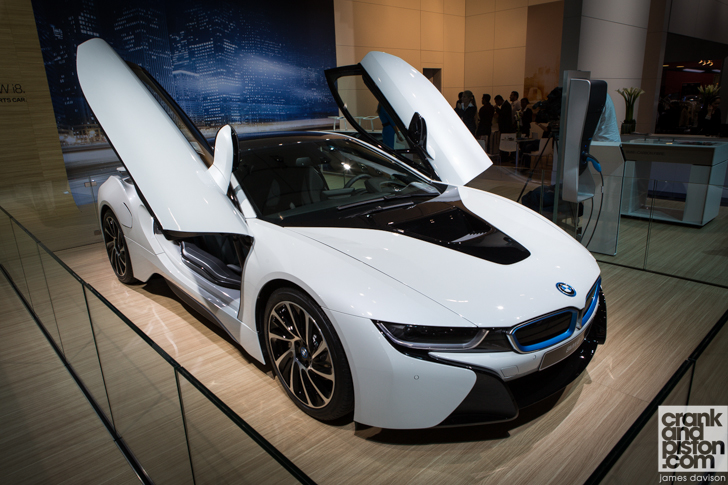 Bmw I8 Makes Appearance At 2013 Dubai Auto Show