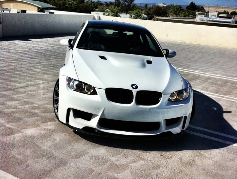 My M3 With 1m Style Bumper By Ltbmw