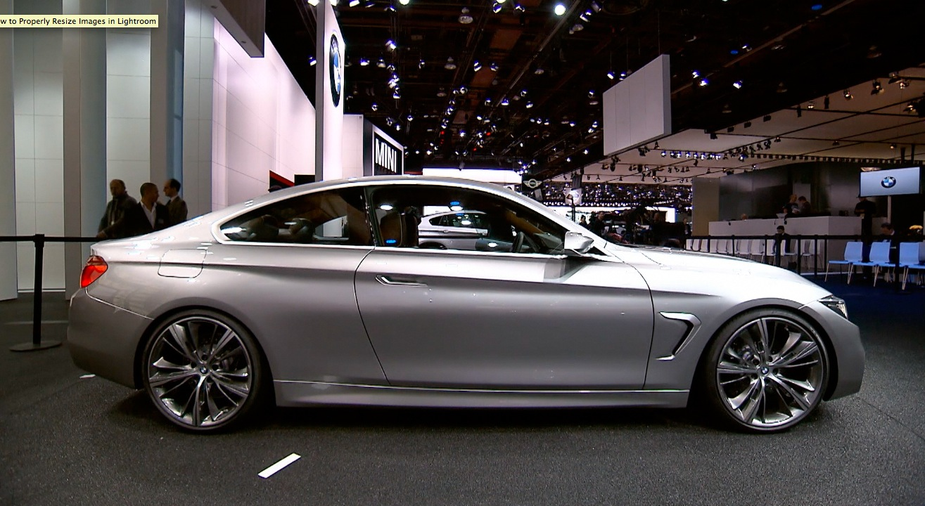 2013 Naias Bmw 4 Series Coupe Concept And Bmw M6 Gran Coupe