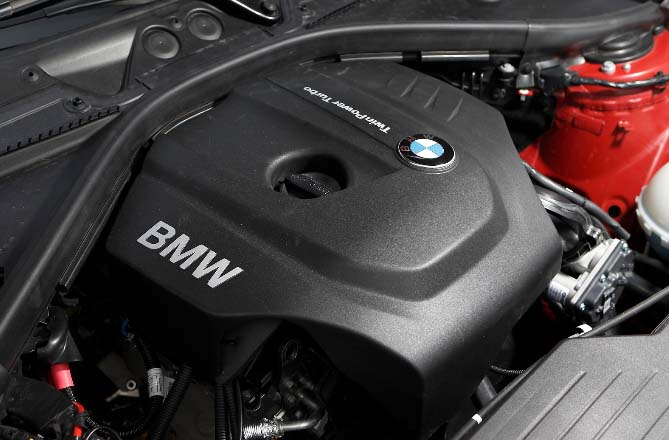 First Bmw 3 Cylinder Turbo Engine Review From Test Drive