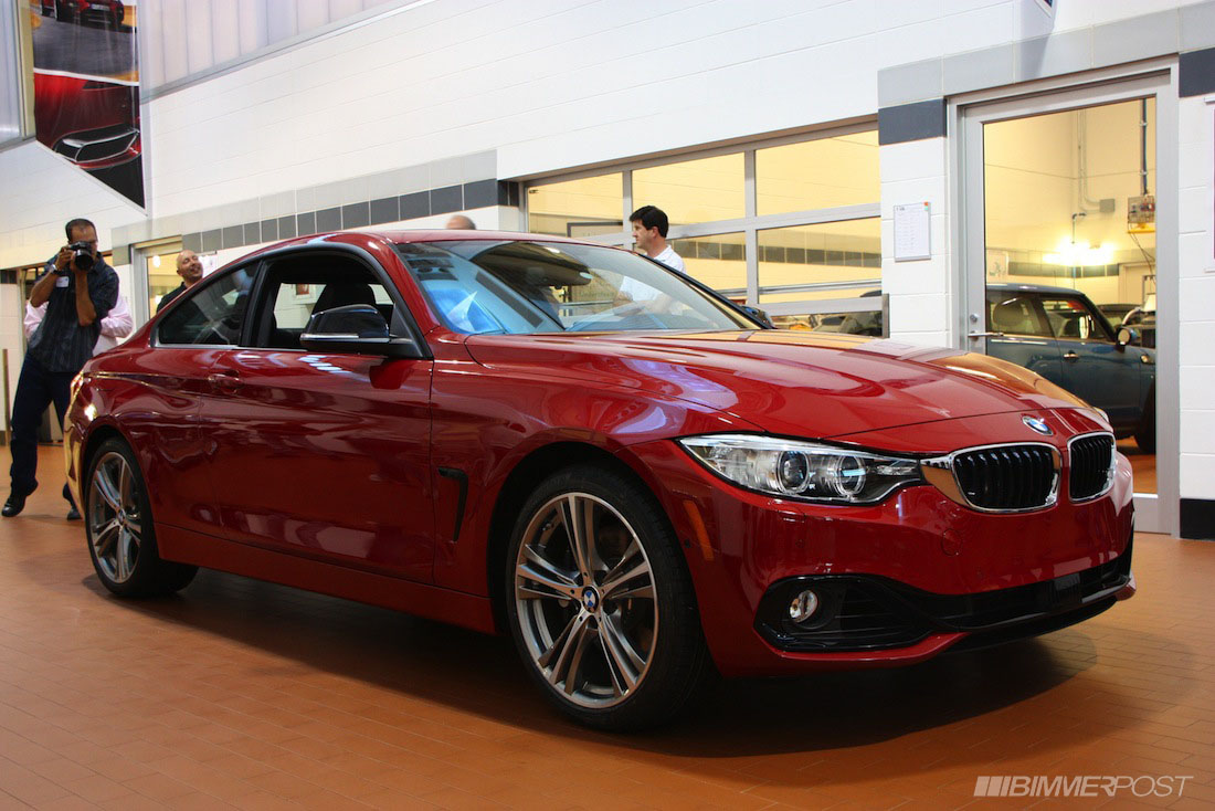 Bmw 4 Series Coupe Has Private Reveal For Bmw Cca Members