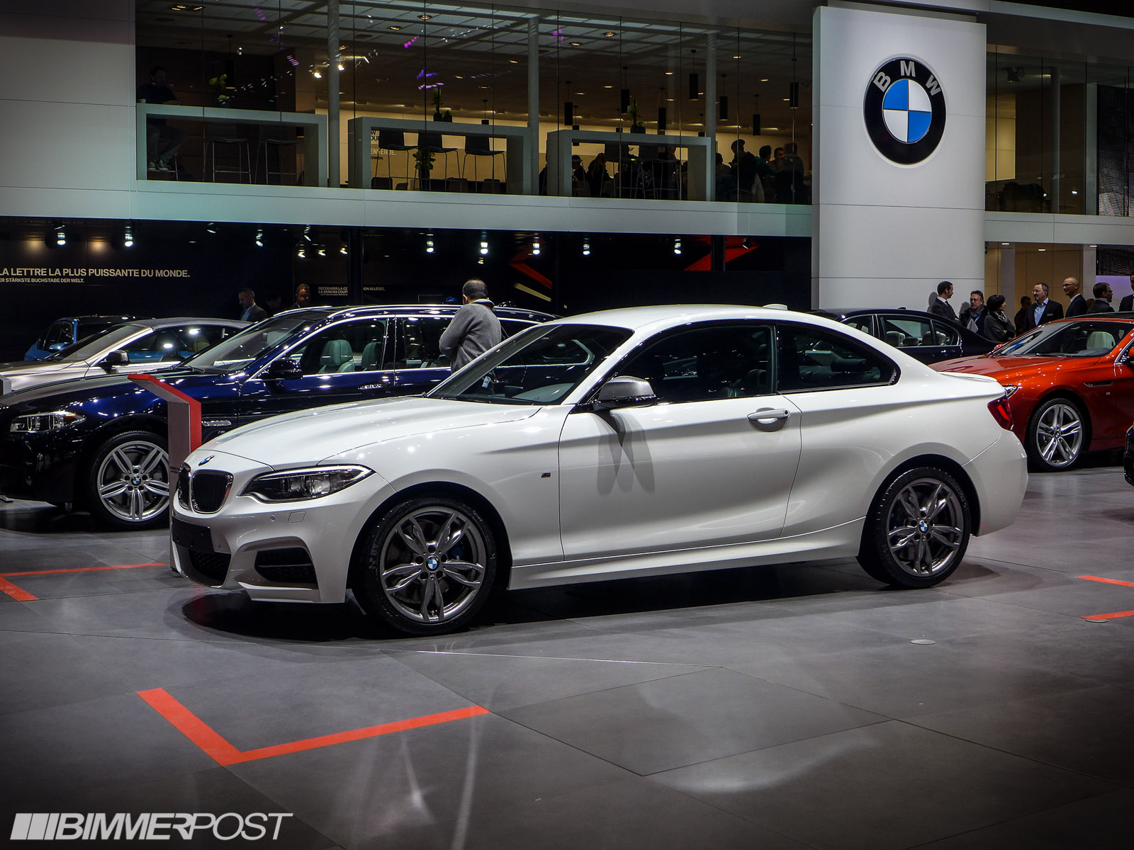 Geneva BMW Mi Coupe European Debut - 2014 bmw m235i