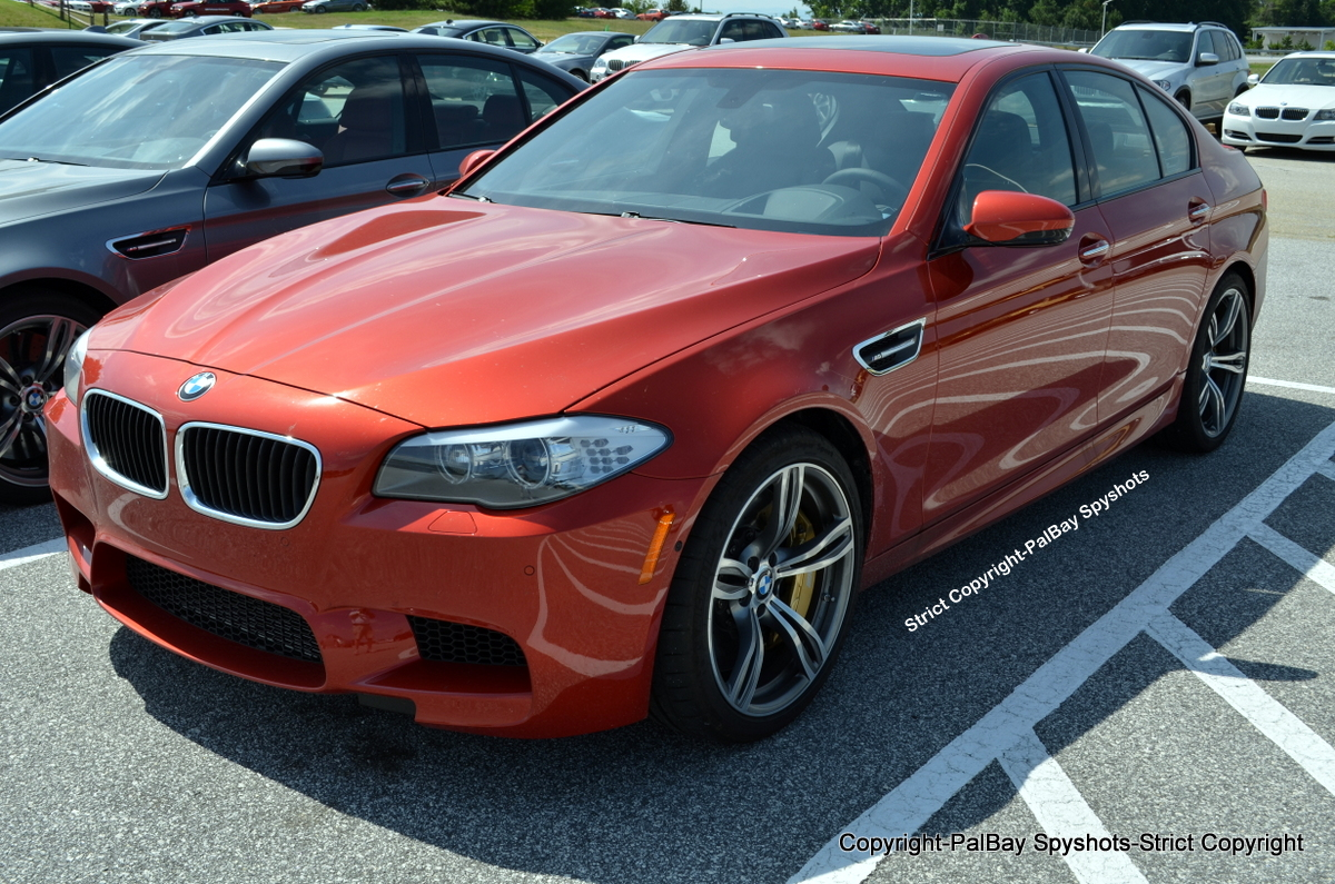 Video Sakhir Orange M5 F10 In Action