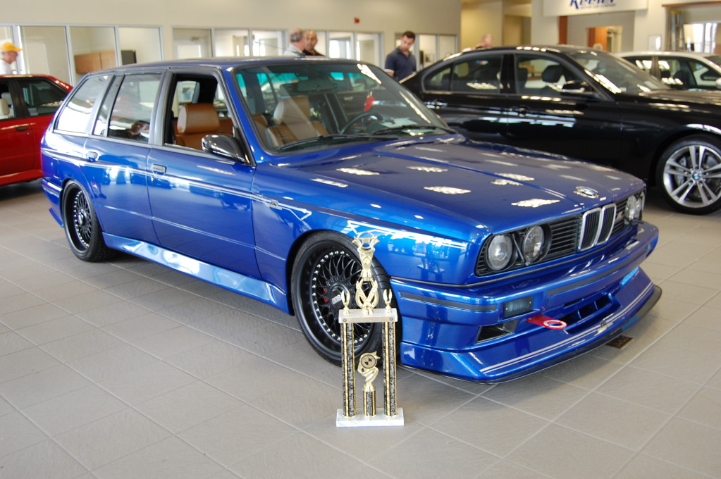Custom E30 M3 Touring With E36 M3 Engine
