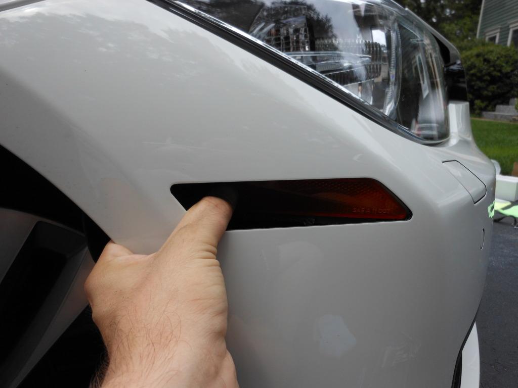 F30 328i 335i Front Bumper Reflectors Removal Install Diy