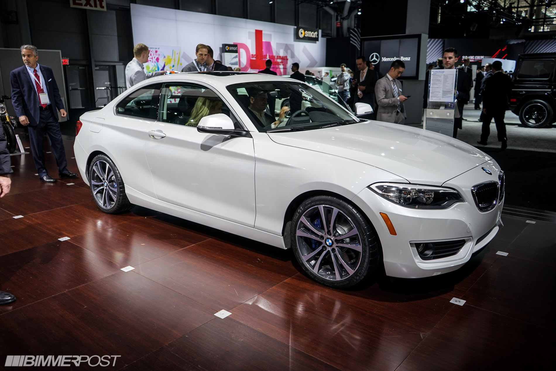 2014 NYIAS BMW 228i with Track Handling Package