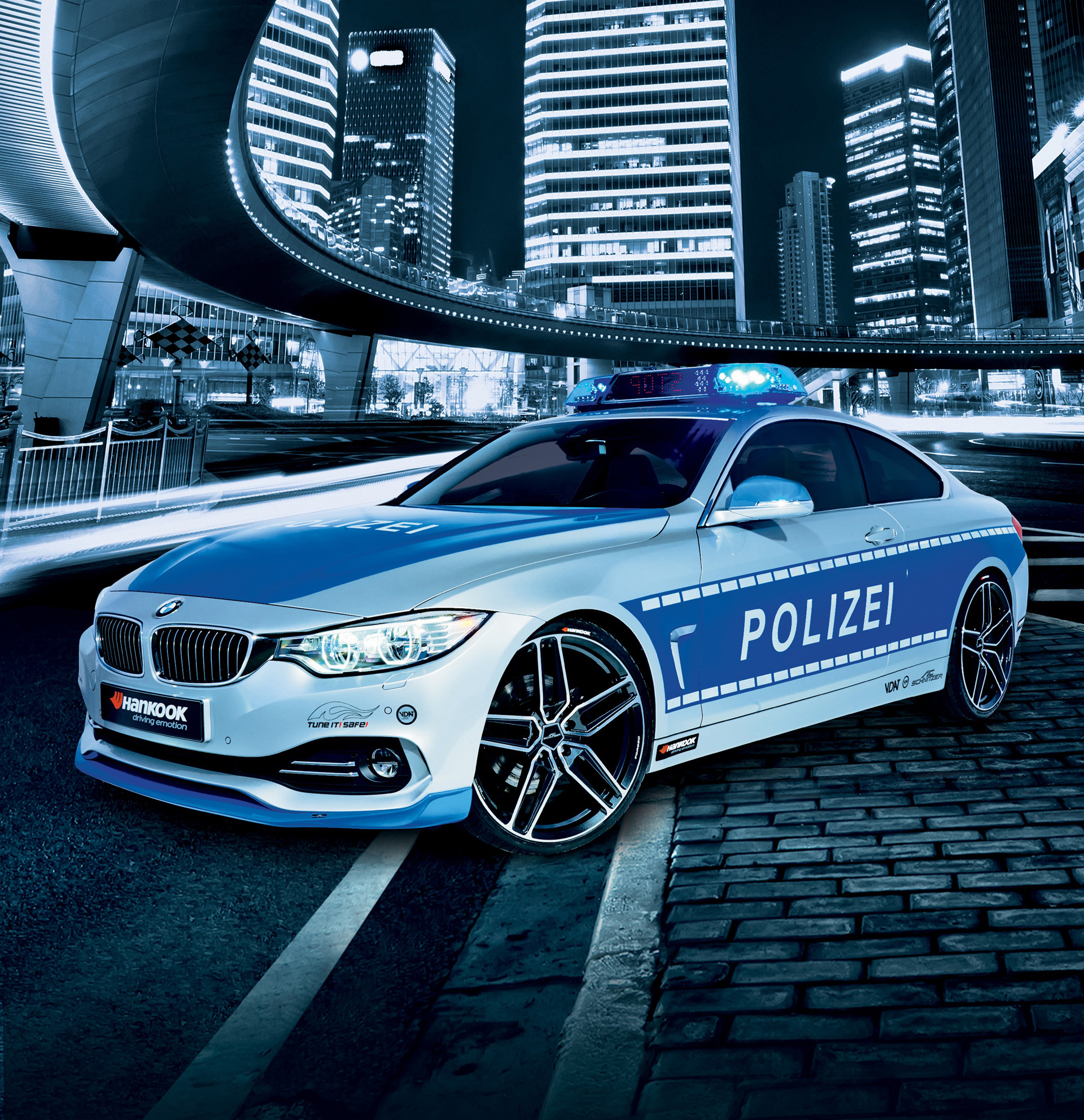TUNE IT! SAFE! Police 428i By AC Schnitzer