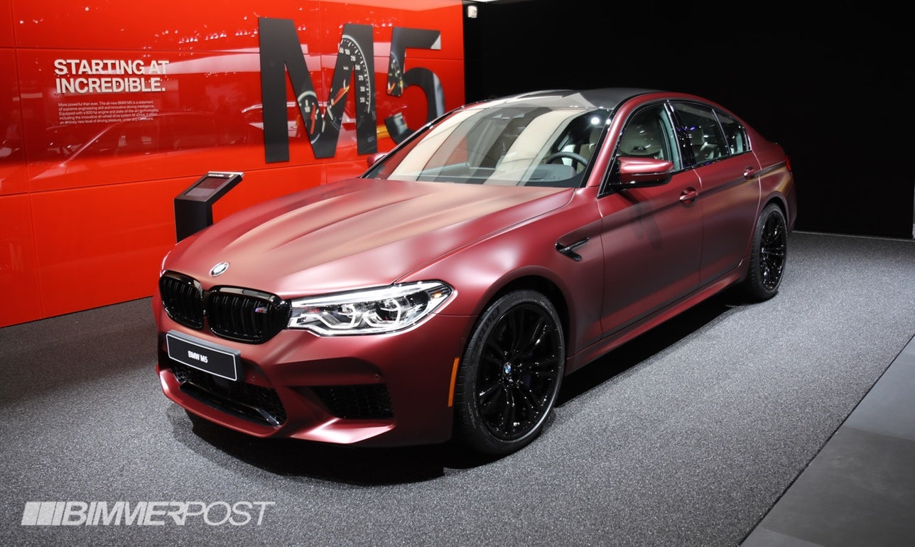 Detroit 2018 Bmw M5 First Edition