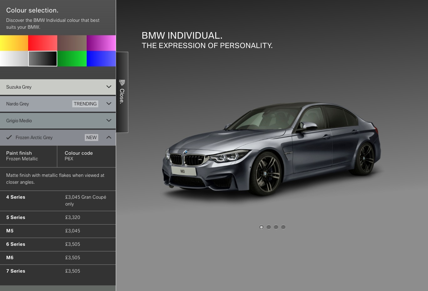 Bmw Individual M3 Color Visualiser Page 3