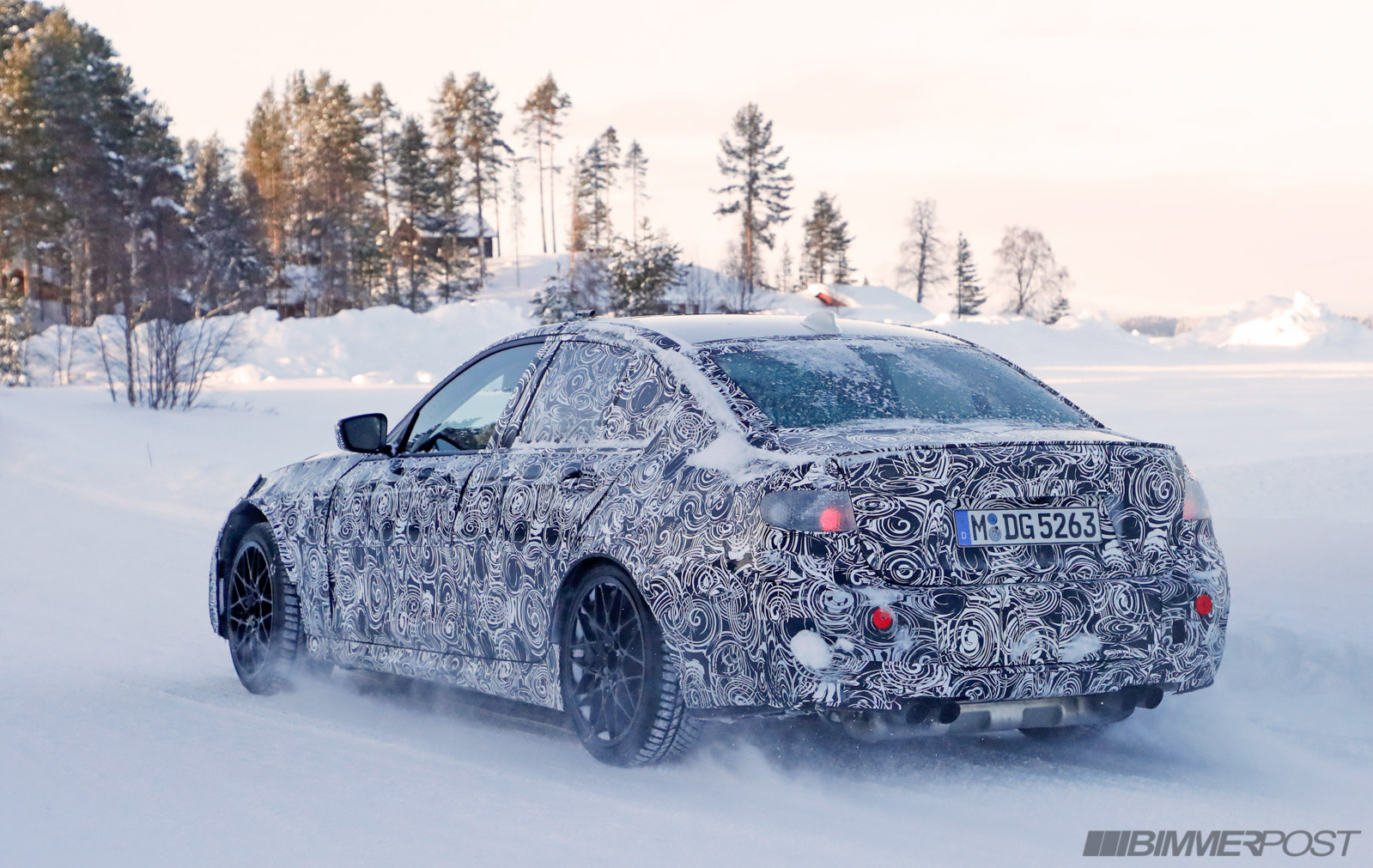 g80 m3 undergoes winter climate testing | car news, reviews