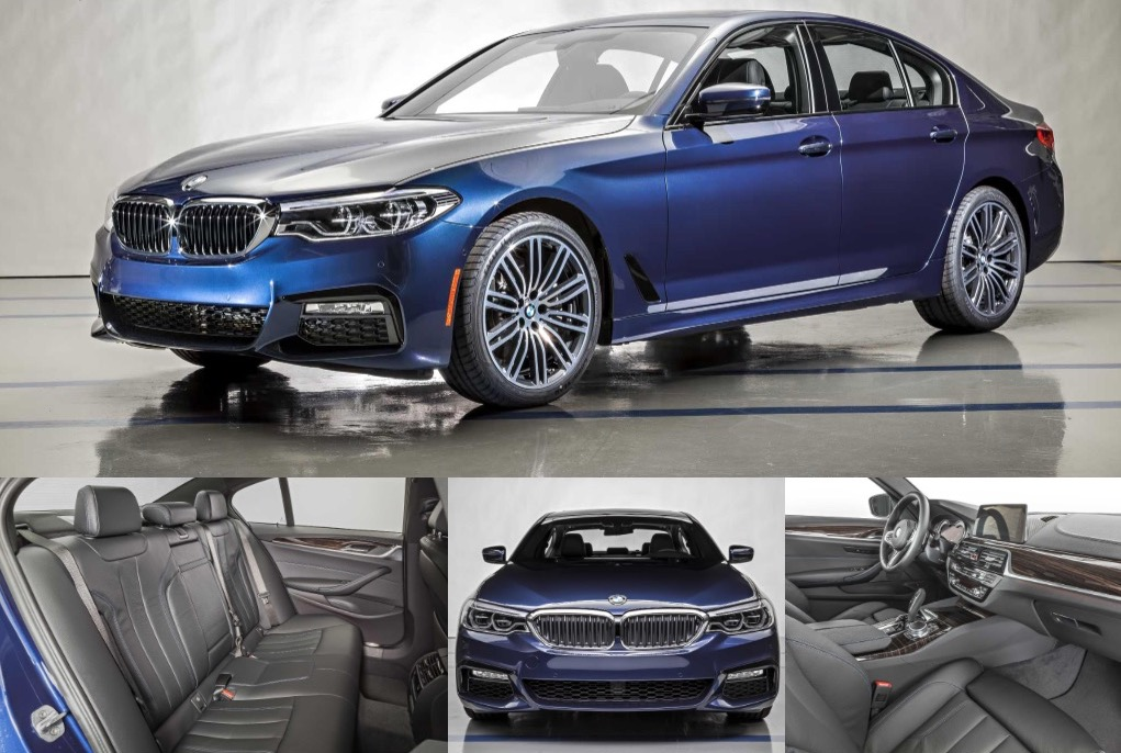 u s pricing for 2017 bmw 5 series announced. Black Bedroom Furniture Sets. Home Design Ideas