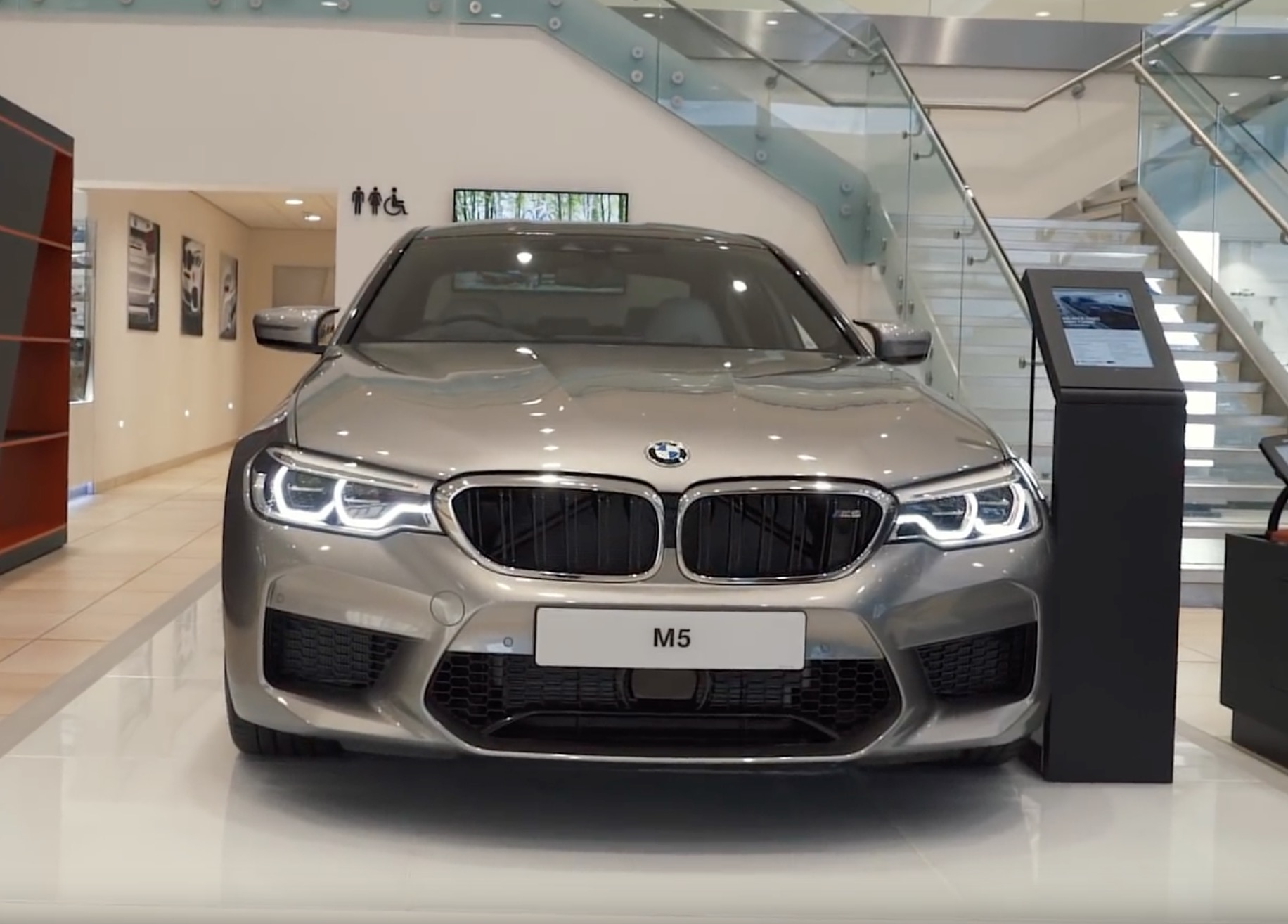BMW M5 F90 in Donington Grey presented by LiveLifeFast