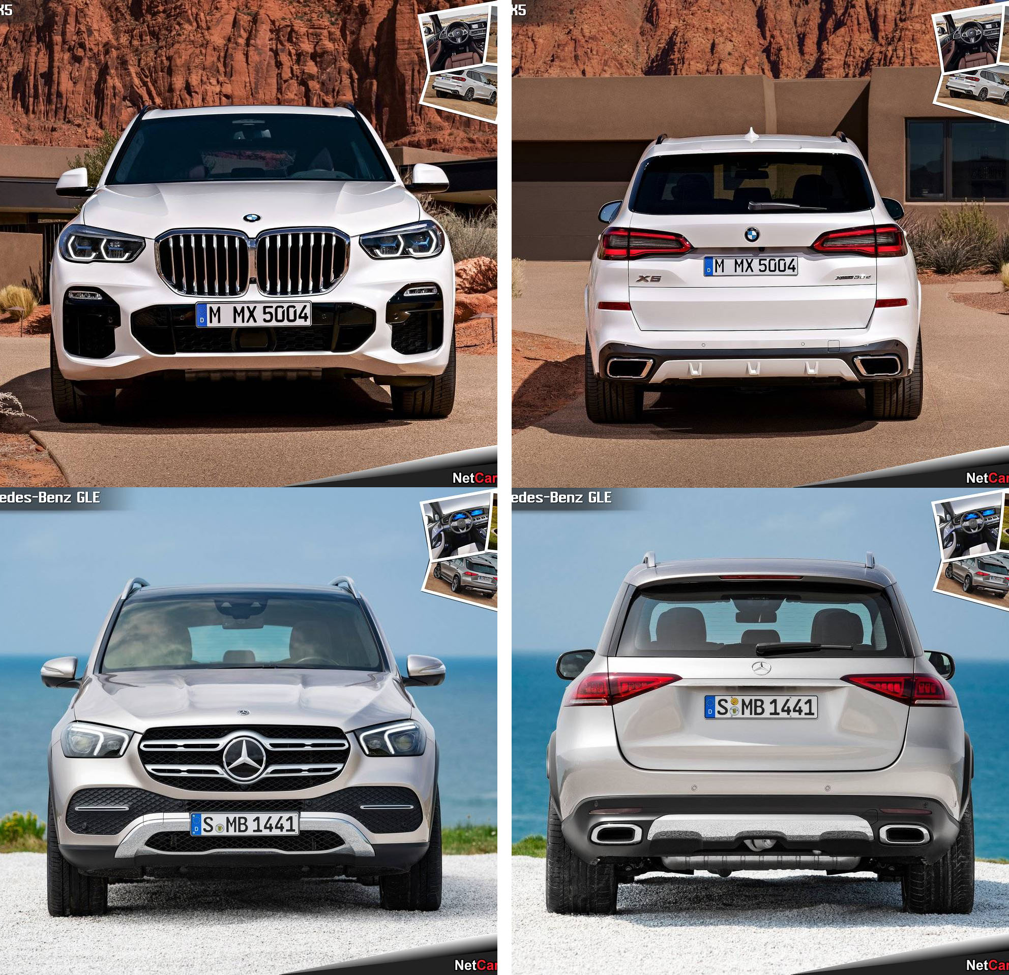 2019 BMW X5 Vs 2020 Mercedes-Benz GLE