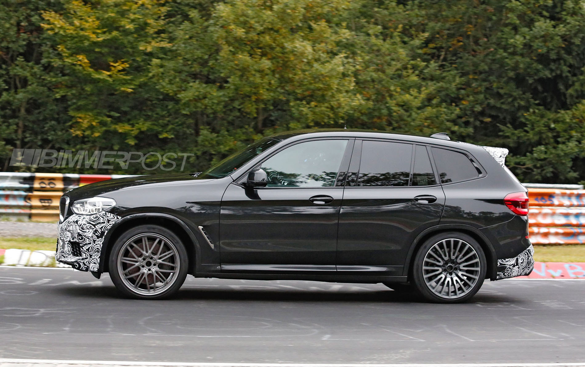 first ever bmw x3 m f97 prototype spied. Black Bedroom Furniture Sets. Home Design Ideas
