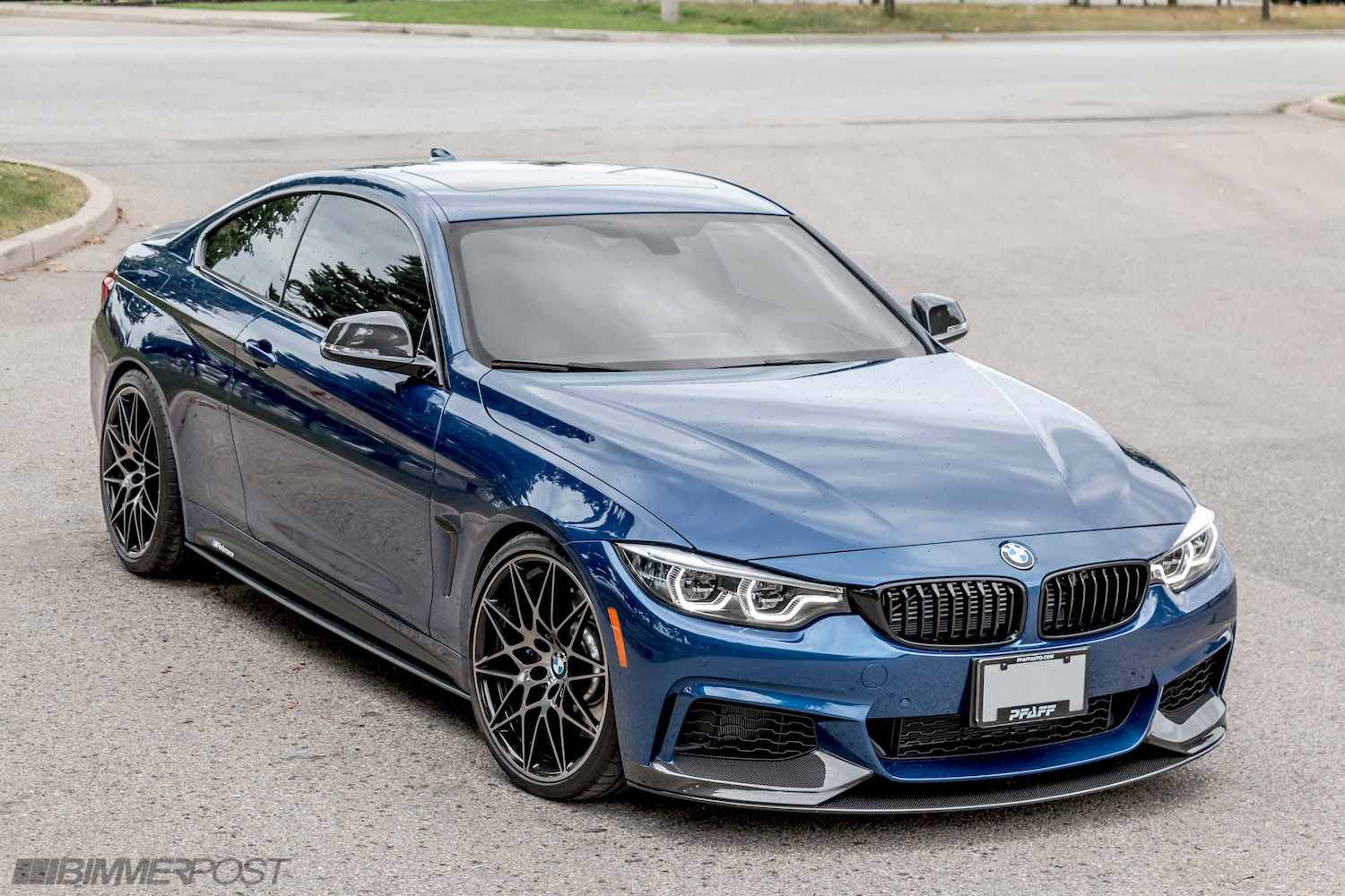 2018 Bmw 440i M Performance Edition Avus Blue Individual