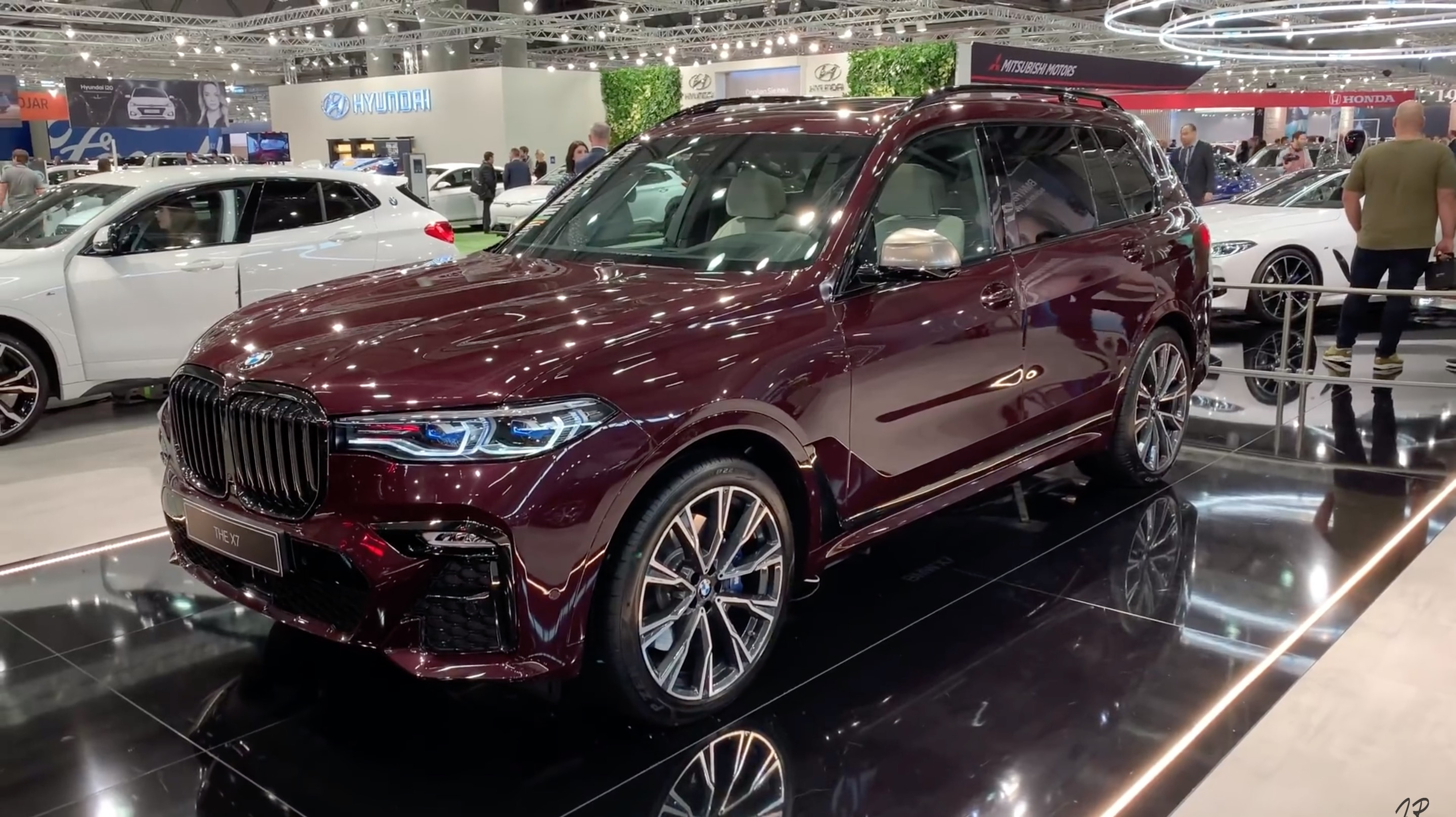 Bmw X7 M Sport In Ametrin Metallic Individual Color At