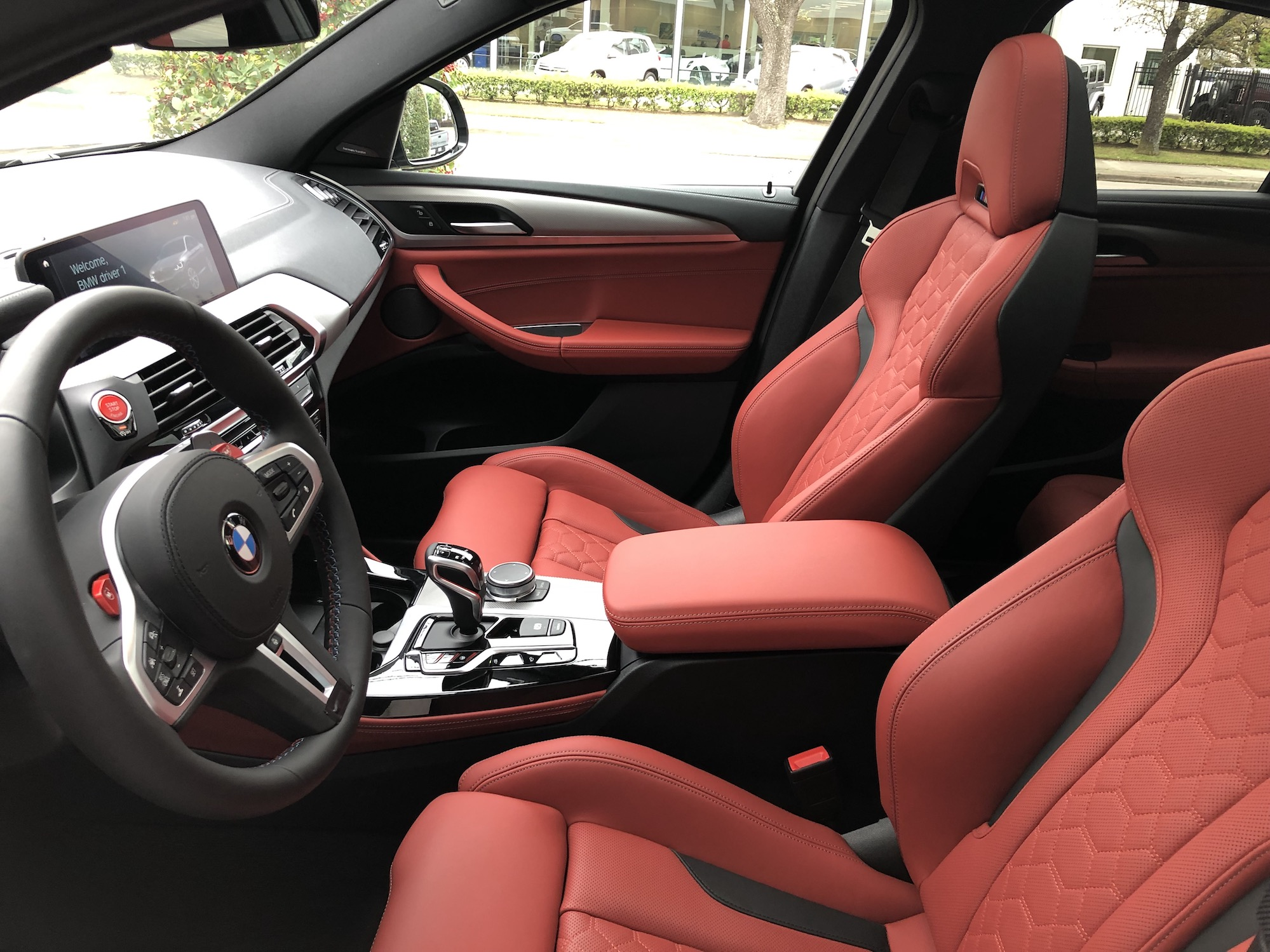 Latest X3m And X4m Pics From Houston With Sakhir Orange Interior