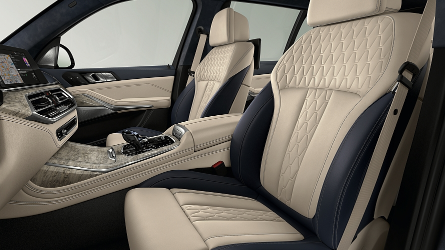 New X7 Individual Trims Full Interior Leathers Coming 0819 My2020