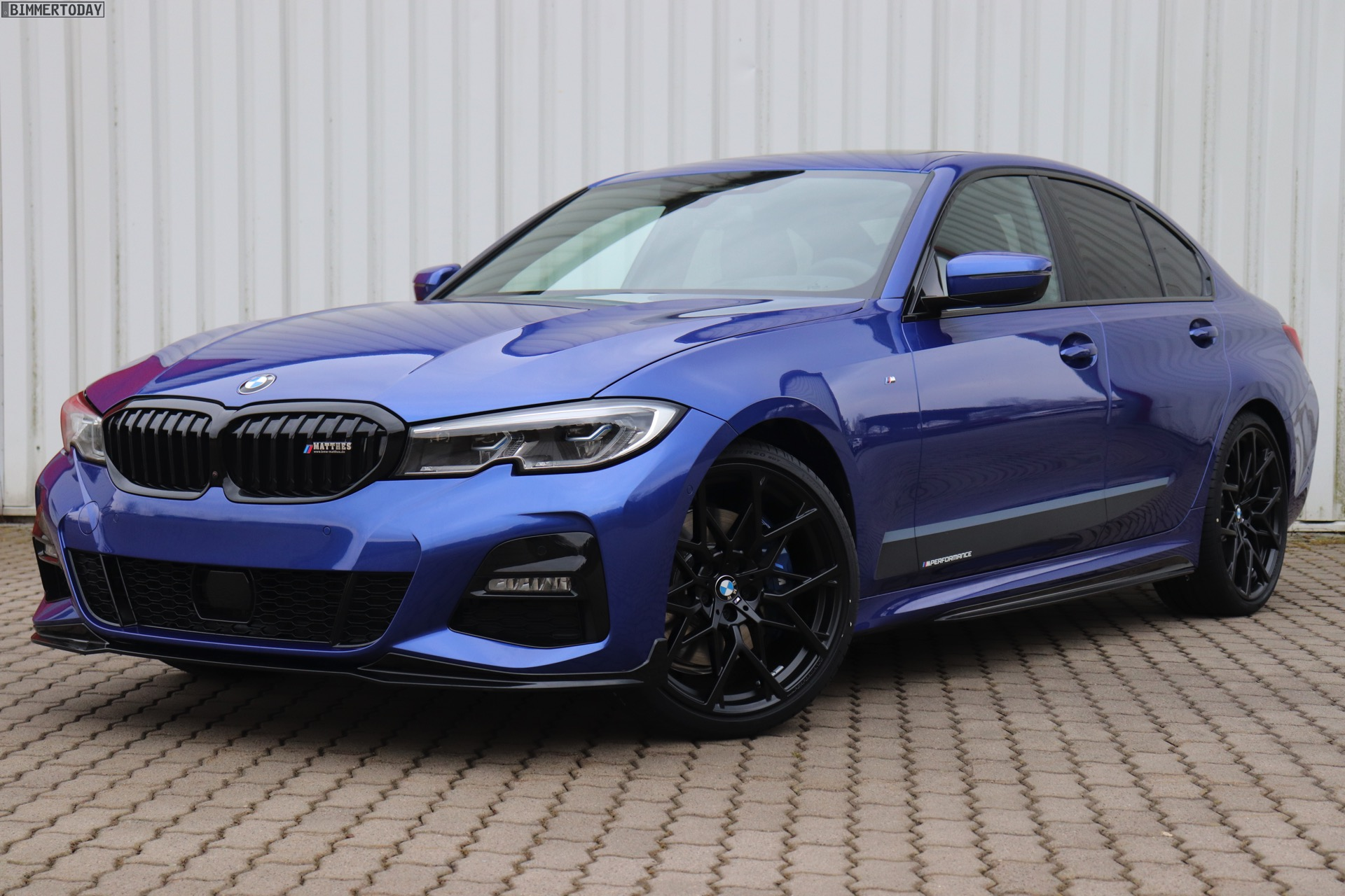 Portimao Blue G20 330i M Sport With M Performance Parts