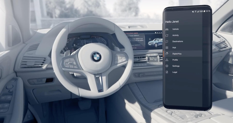 BMW Digital Key - how it works (video)