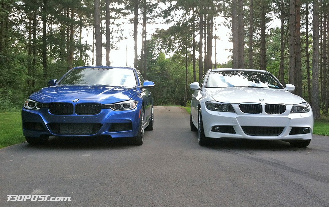 Real Life Photo Comparison F30 M Sport Versus E90 Lci M Sport