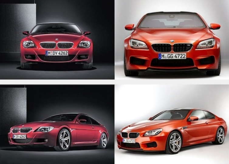 New Bmw M6 F12 F13 And Old M6 E63 E64 Compared