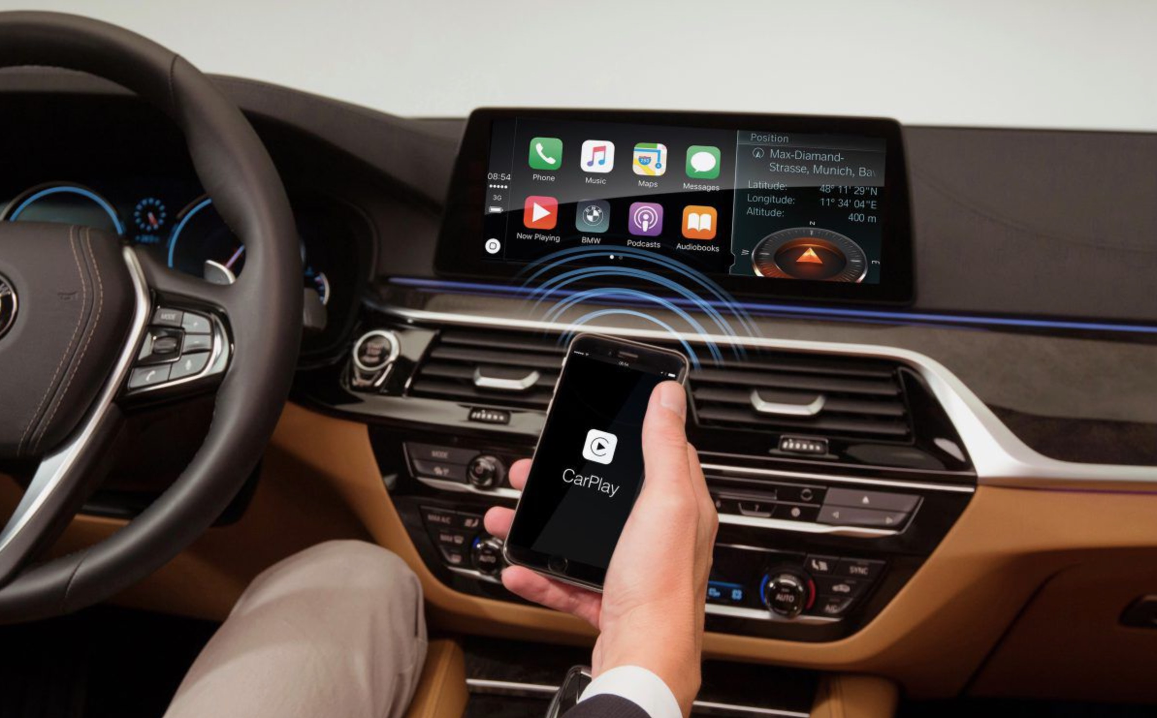BMW switching Apple CarPlay to a subscription based service  $80/year