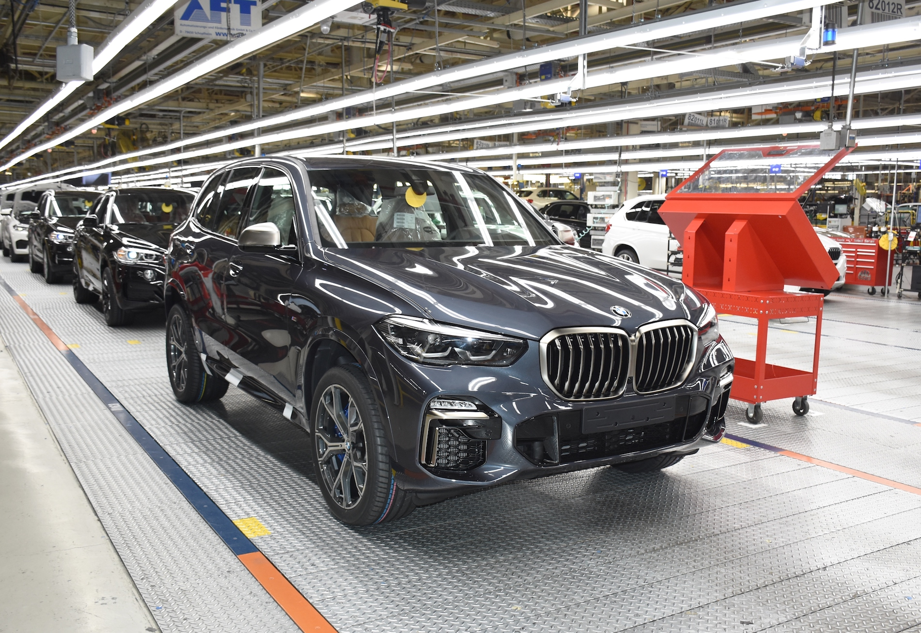 Bmw Plant Spartanburg Making Final Preparations To Begin