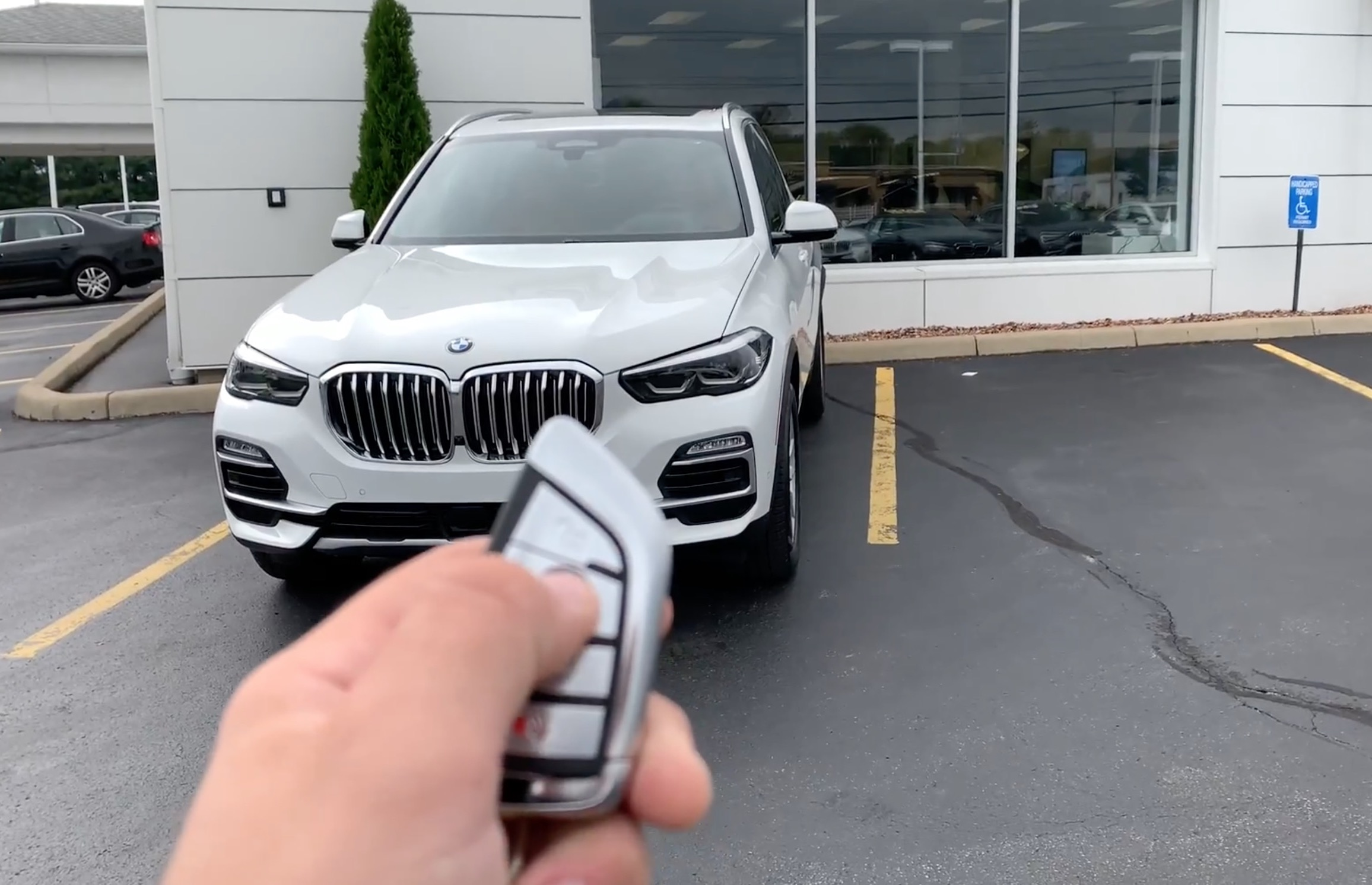 Remote start in action demo video